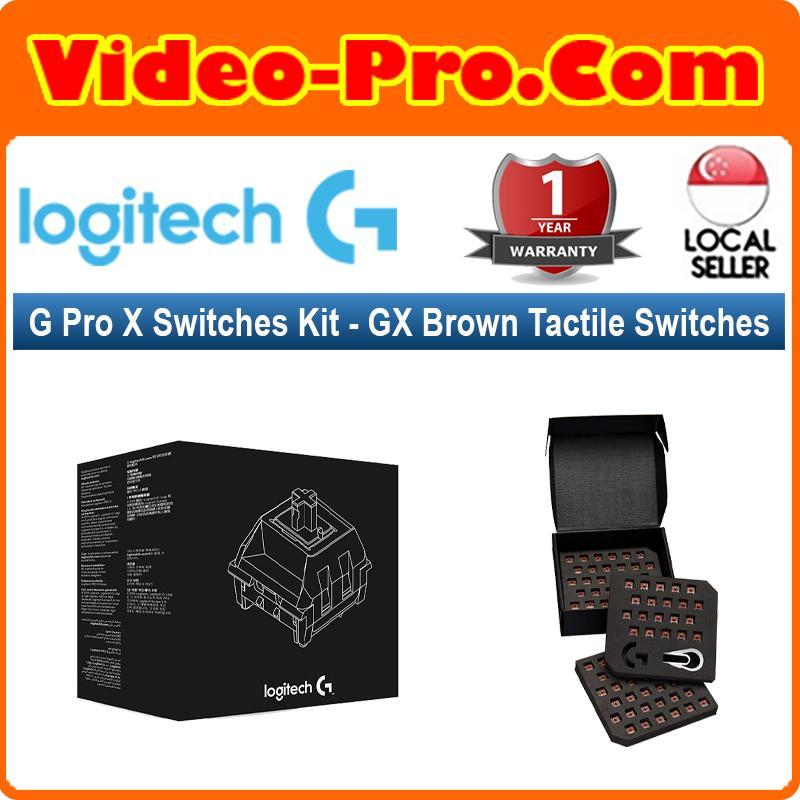 Logitech G Pro X Switches Kit (GX Brown Tactile Switches) Singapore