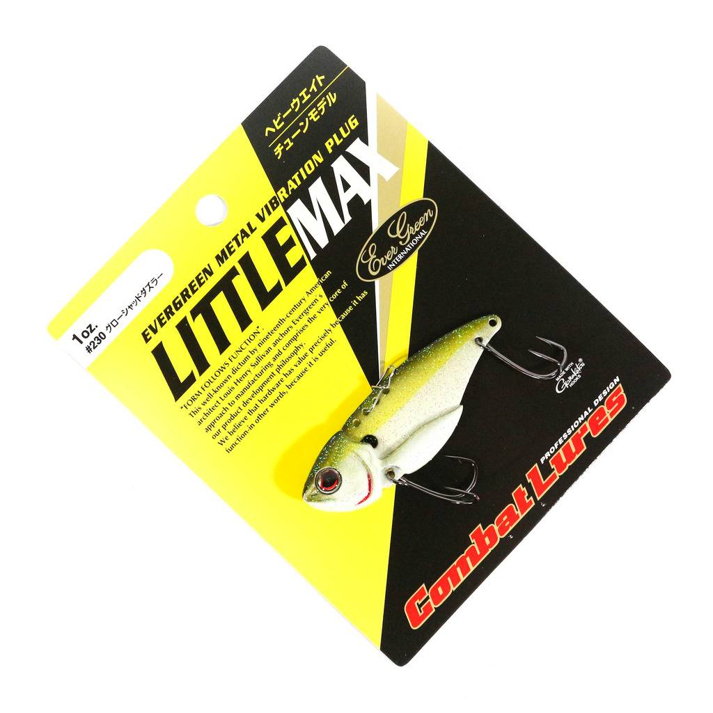 1621 Evergreen Little Max Metal Vibration 3//4 oz Sinking Lure 19