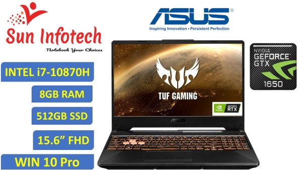 [NEW Arrival-Next Day DELIVERY] [BRAND NEW ) SPEACIALLY FOR TUF GAMING ASUS FX506L | INTEL i7-10870H | 10TH GEN | 8GB RAM | 512GB SSD | 15.6 FHD WV DISPLAY | NVIDIA GTX 1650 4GB GRAPHICS | WINDOWS 10-PRO | WIFI 6 ,1 YEAR WARRANTY