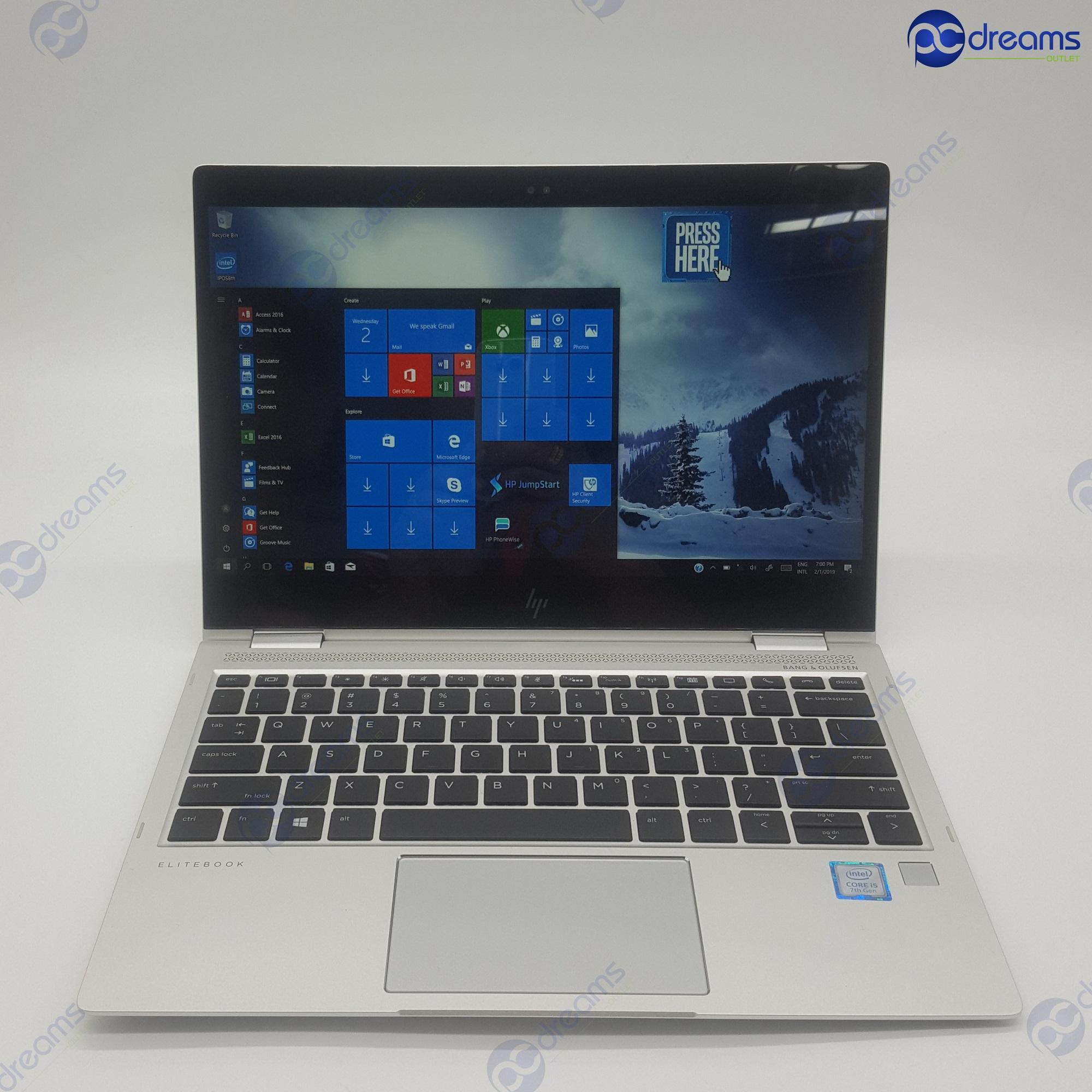 HP ELITEBOOK X360 1030 G2 (X3U21AV) i7-7600U/16GB/256GB PCIe SSD [Premium Refreshed]