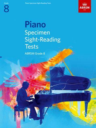 ABRSM Piano Specimen Sight-Reading Tests - Grade 8