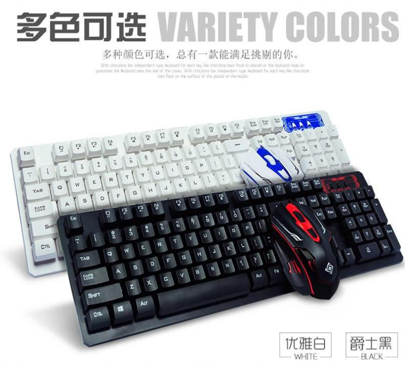 Foreign Trade Export Cross Border for All English Packaging Intelligent Power-Saving Wireless Keyboard And Mouse Set Manufacturers Wholesale Singapore