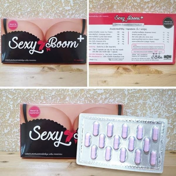 Buy Original Sexy Boom + Breast Enlargement - Free Shipping/Courier Singapore