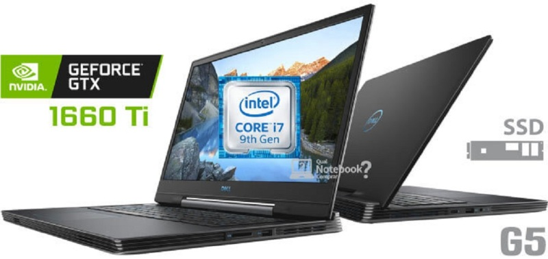 [New Arrival]Dell G5 15 - 5590 9th Gen i7-9750H 16GB RAM 512GB SSD + 1TB HDD NVIDIA GeForce GTX 1660Ti 6GB GDDR6 Windows 10 15.6inch FHD IPS 144Hz color Deep Space Black , Dell Backpack ,Wireless mouse 1 year dell onsite wty