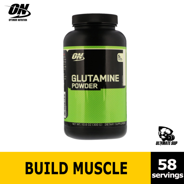 Buy Optimum Nutrition, Glutamine Powder, Build Muscle, Workout Support, Unflavored, 300g Singapore