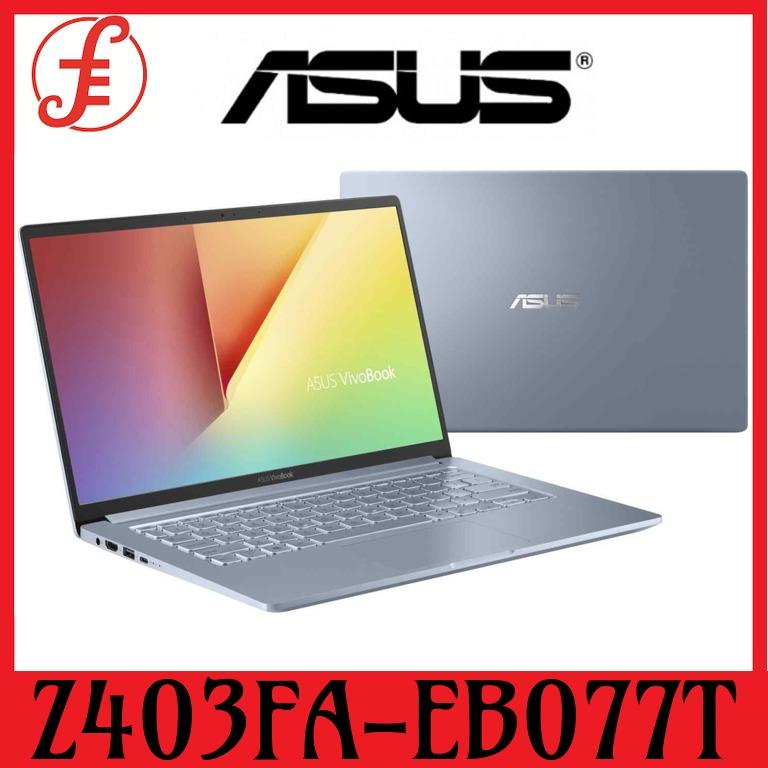 ASUS Z403FA-EB077T 14 IN FHD INTEL CORE I7-8565U 8GB 512GB SSD WIN 10 (Z403FA-EB077T)