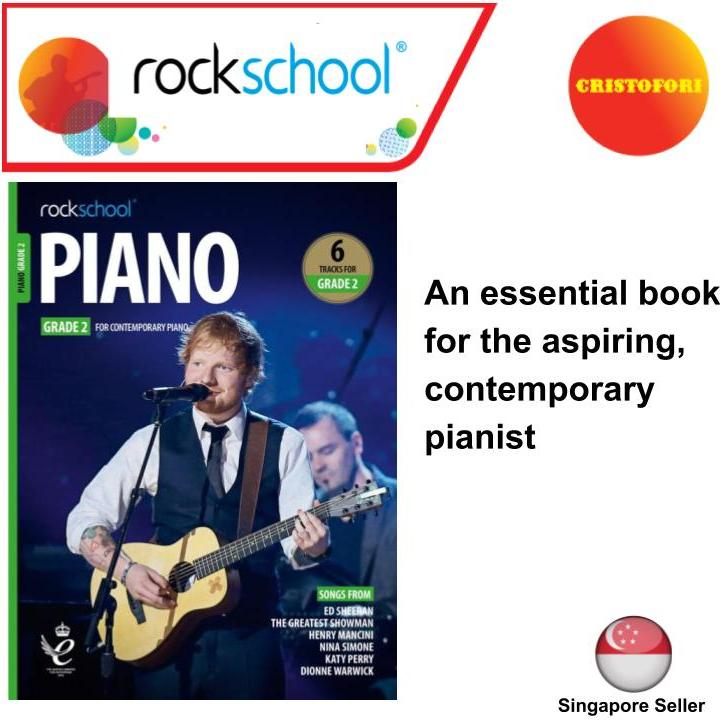 Rockschool Piano - GRADE 2 (2019+ New Syllabus Book)