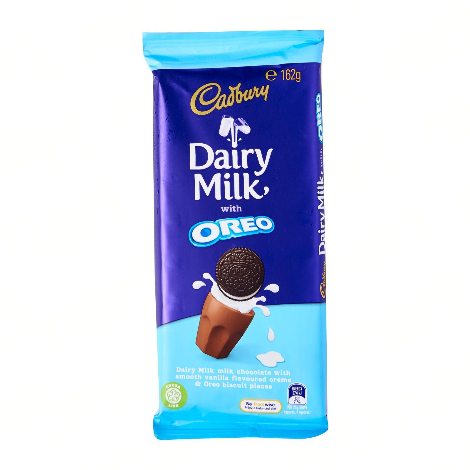 Cadbury Dairy Milk Oreo Vanilla Block Chocolate