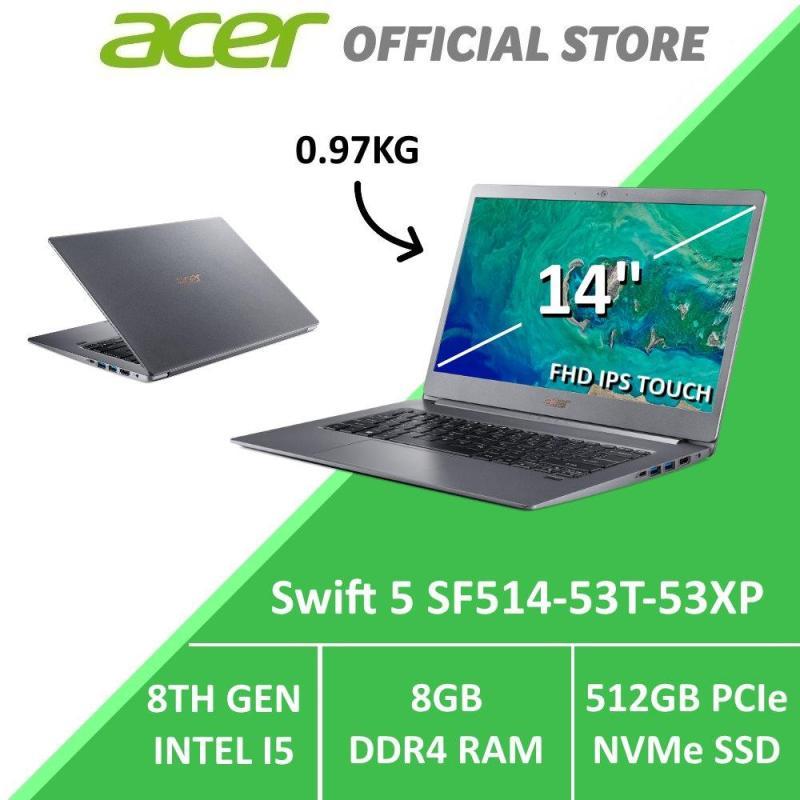 Acer Swift 5 SF514-53T-53XP 14-Inch Intel i5 Thin & Light Laptop (Grey)