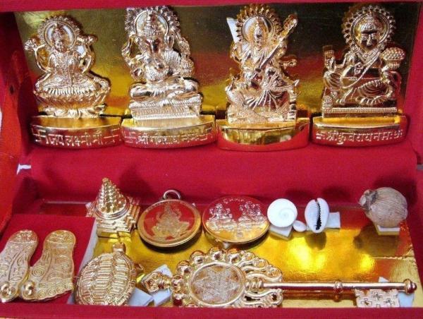 Sri Dhan Laxmi Kuber Bhandari Yantra Sarv Samridhi Sarv Dosh Nivaran [CBX]