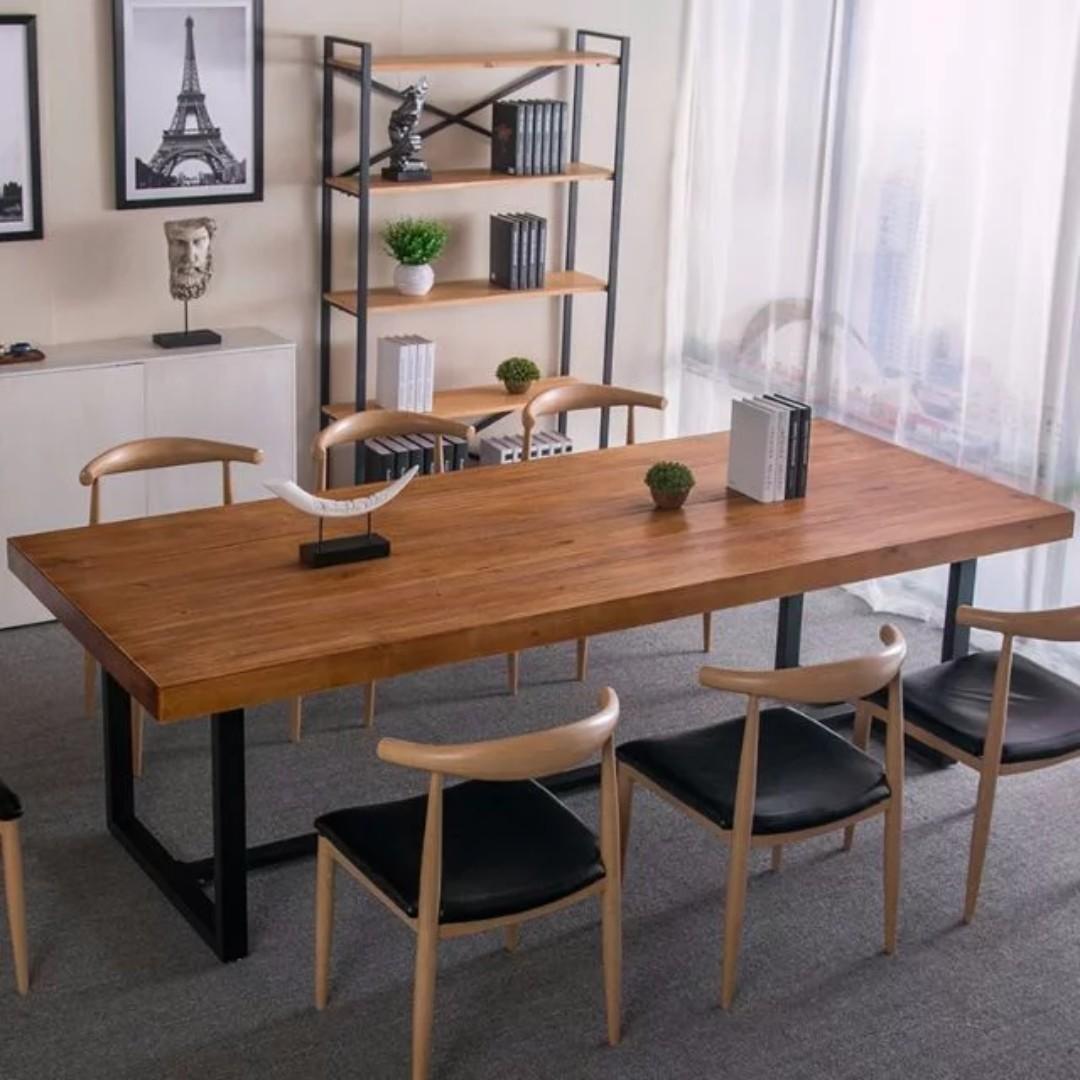 TSDT 00D Solid wood Dining Table(L140*W80*H75cm)