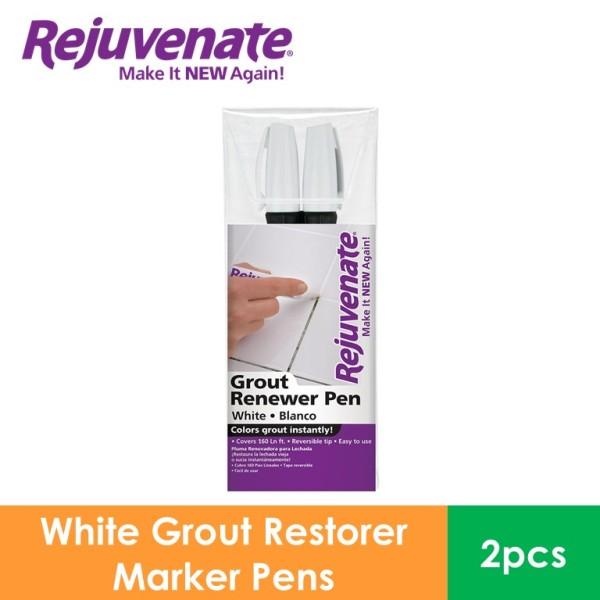 REJUVENATE Grout Renewer Pens, White (2 Pieces) RJ-2GMW