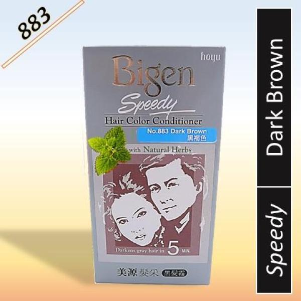 Buy Bigen Speedy Hair Colour Conditioner with Natural Herbs (883 Dark Brown) Singapore