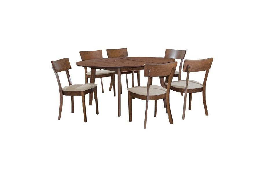 1 + 6 DINING SET /DINING ROOM SET / MEJA KERUSI MAKAN / DINNER SET L1200MM X H750MM X T18MM