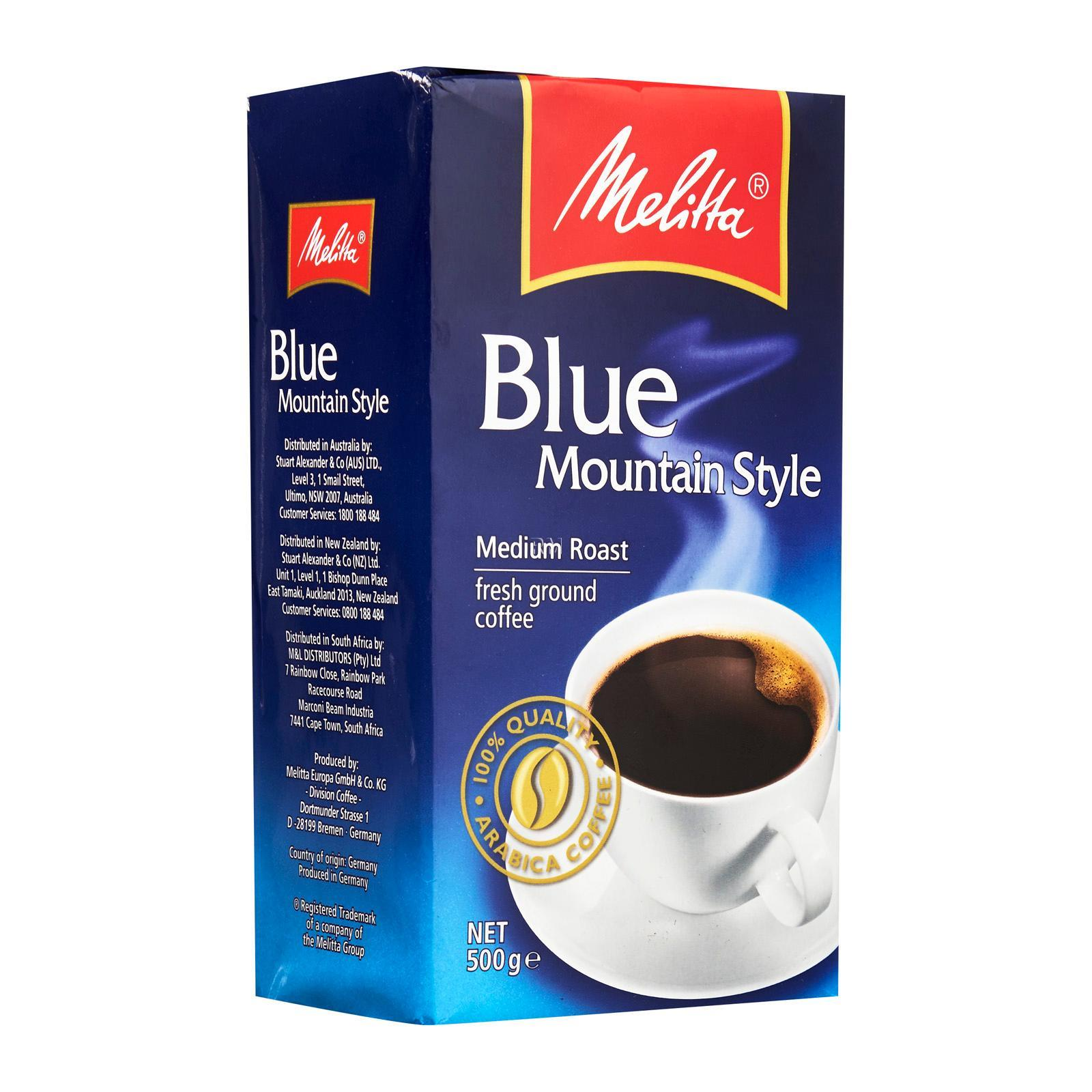 Melitta Blue Mountain Ground Coffee
