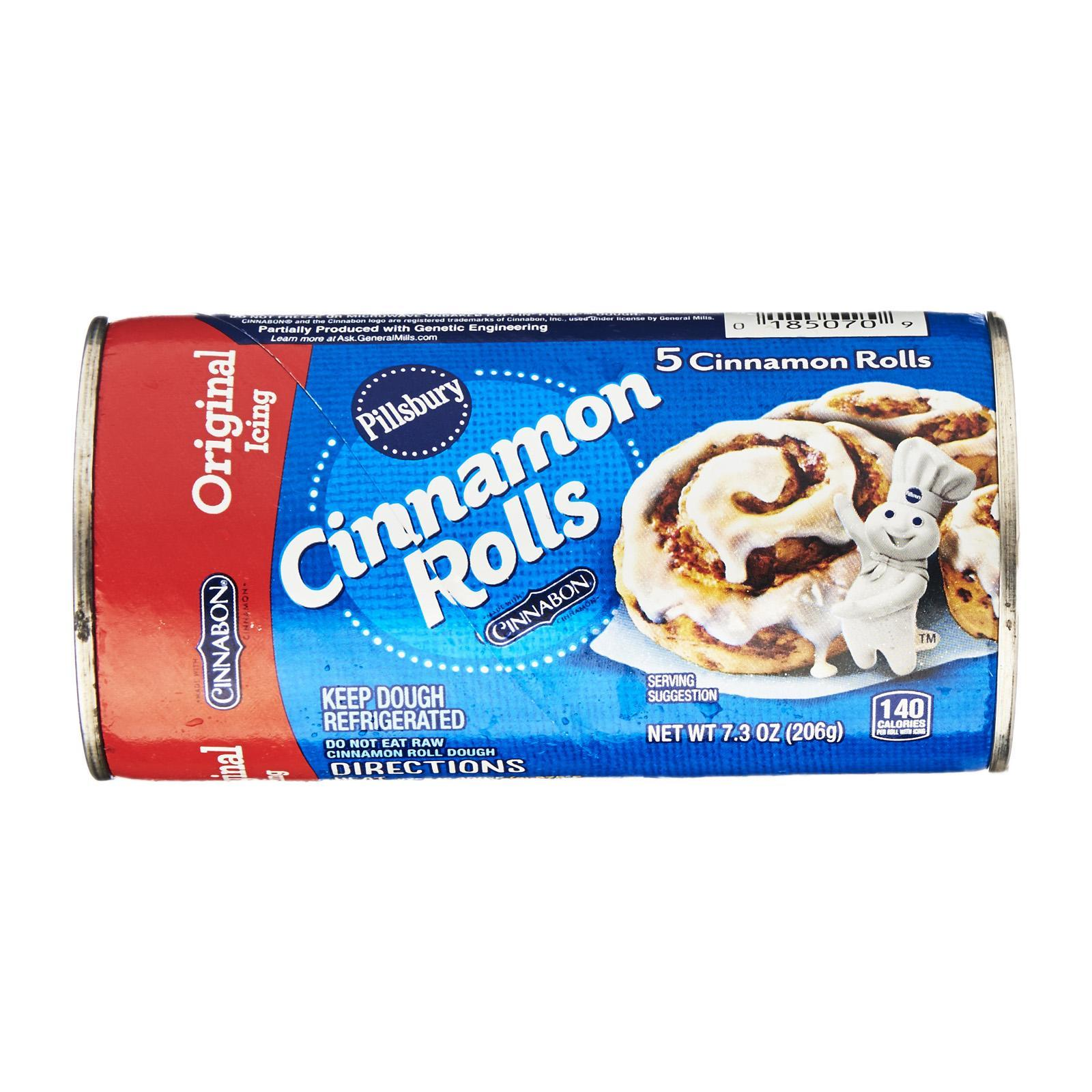Pillsbury Chilled Cinnomon Rolls With Icing By Redmart.