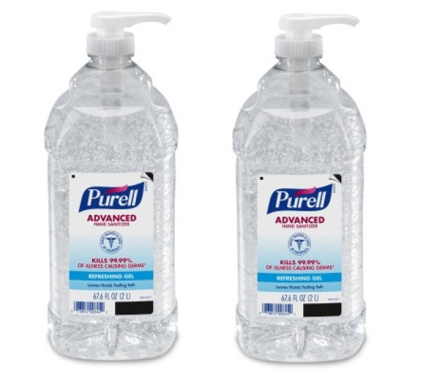 Buy PURELL® Advanced Hand Sanitizer Gel - 2 Liter Economy Size Pump Bottle (PACK OF 2) Singapore
