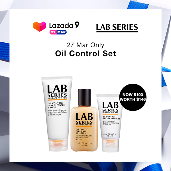 Buy [Birthday Exclusive: 27 Mar at $103] Lab Series Oil Control Set (WORTH $146) Singapore