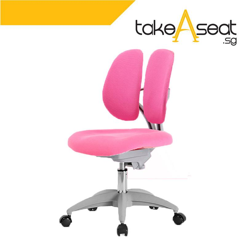 Twin Padded Basic Kids Ergonomic Chair (Without Footrest)(Self Setup)