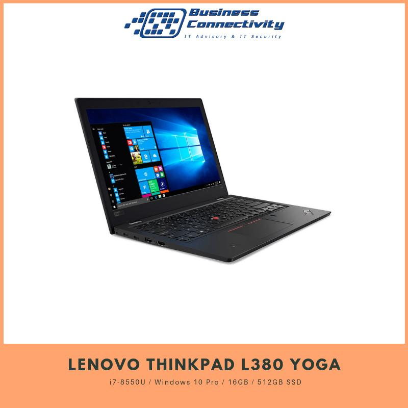 Lenovo ThinkPad L380 Yoga i7-8550U / Windows 10 Pro / 16GB / 512GB SSD
