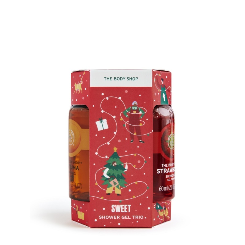 Buy The Body Shop Sweet Shower Gel Trio (Christmas Gift Set) Singapore