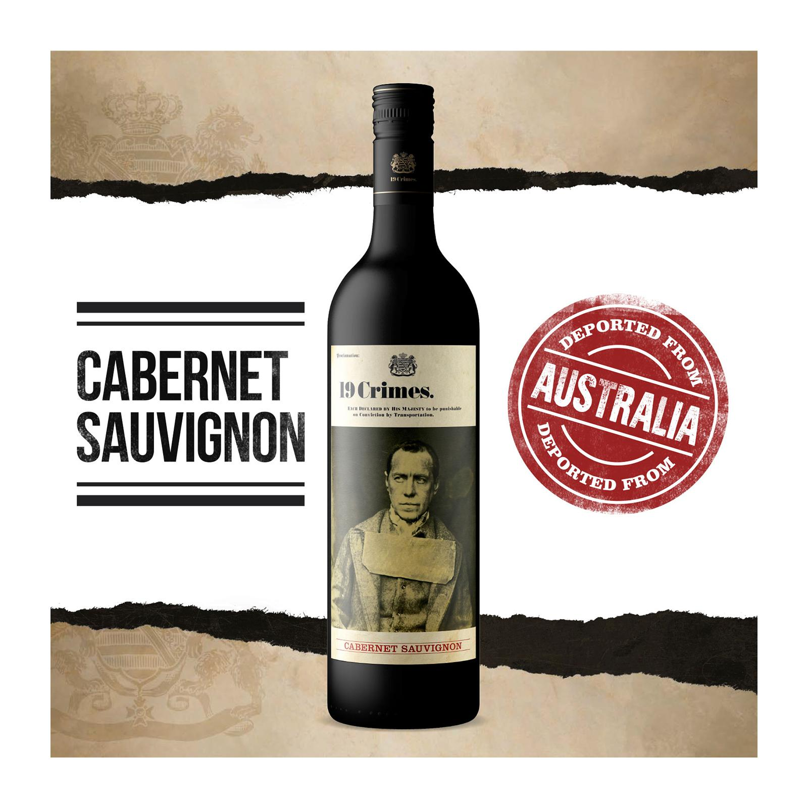 19 Crimes Cabernet Sauvignon Smooth Red Wine