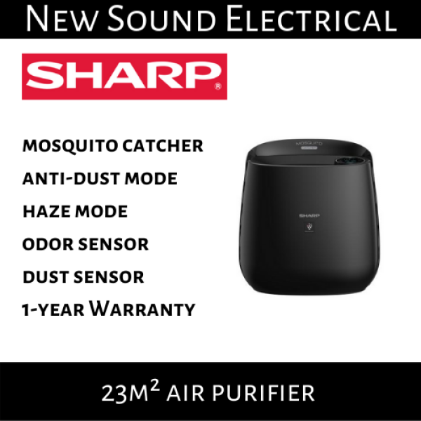 Sharp FP-JM30E-B 23m² Air Purifier with Mosquito Catcher | 1-year Local Warranty Singapore