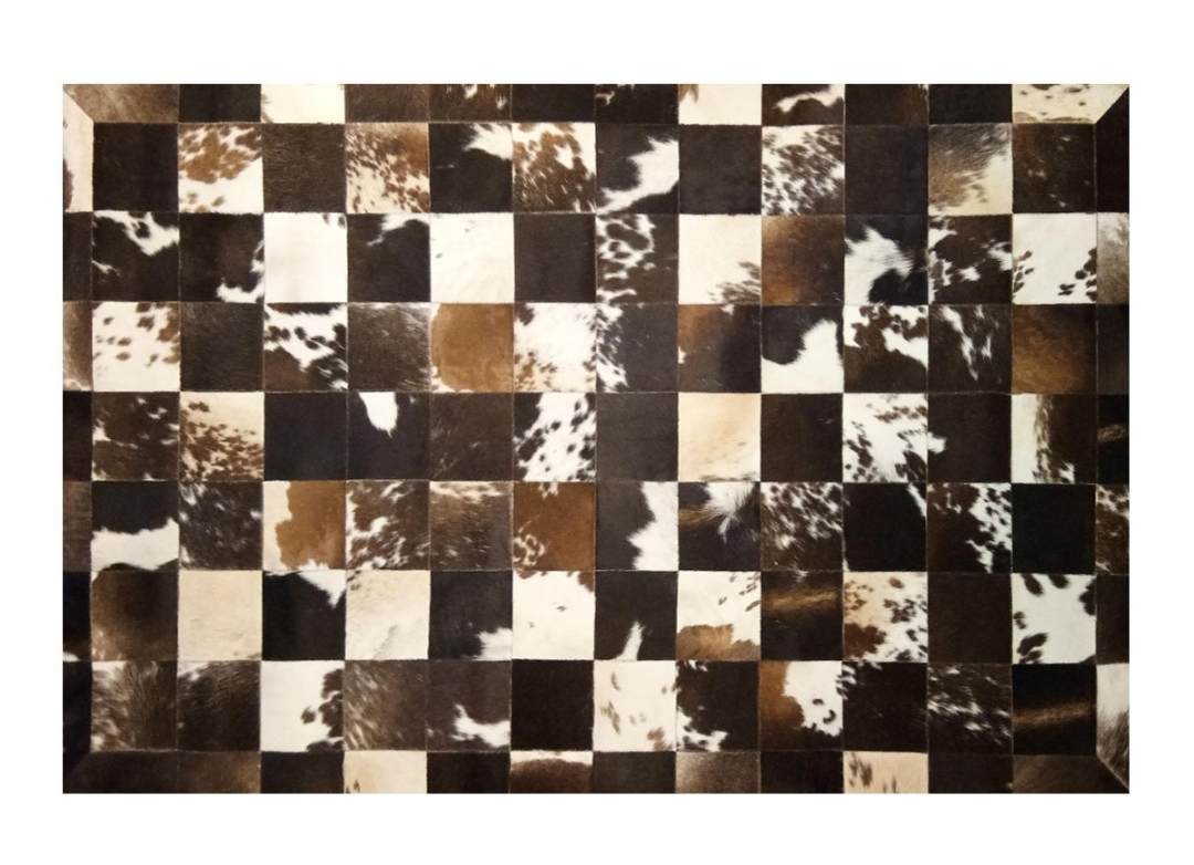 CP 125 Cowhide Leather Rug
