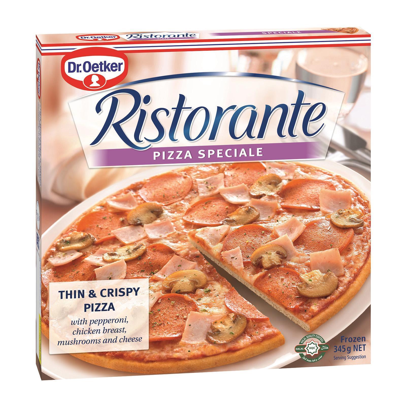 Dr Oetker Ristorante Pizza Speciale - Frozen By Redmart.