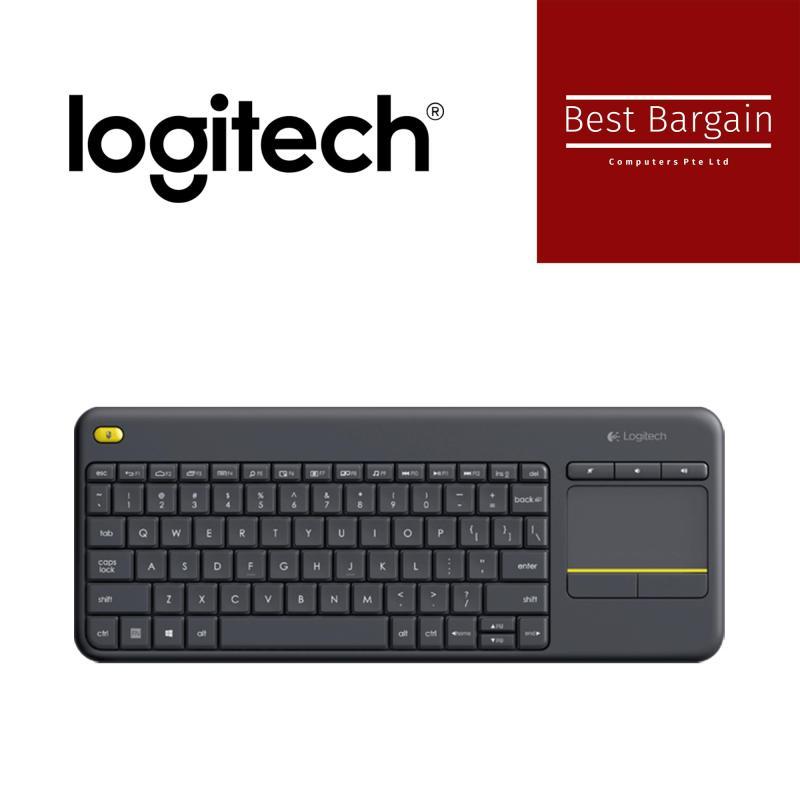Logitech Logitech WIRELESS TOUCH KEYBOARD K400 PLUS Singapore