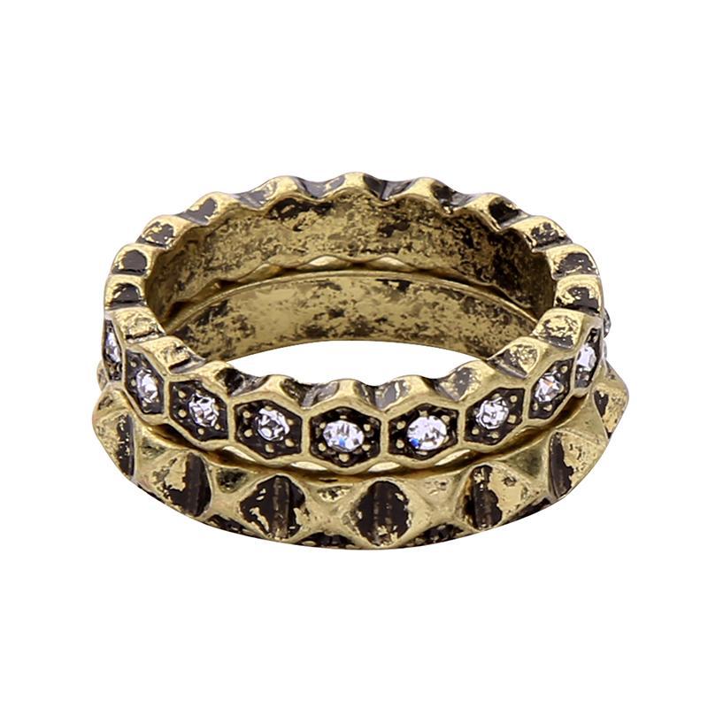 a91352e33 Cool Diamond Set Forefinger Ring women Elegant Versatile Europe And America  Retro Trend Cool girl women