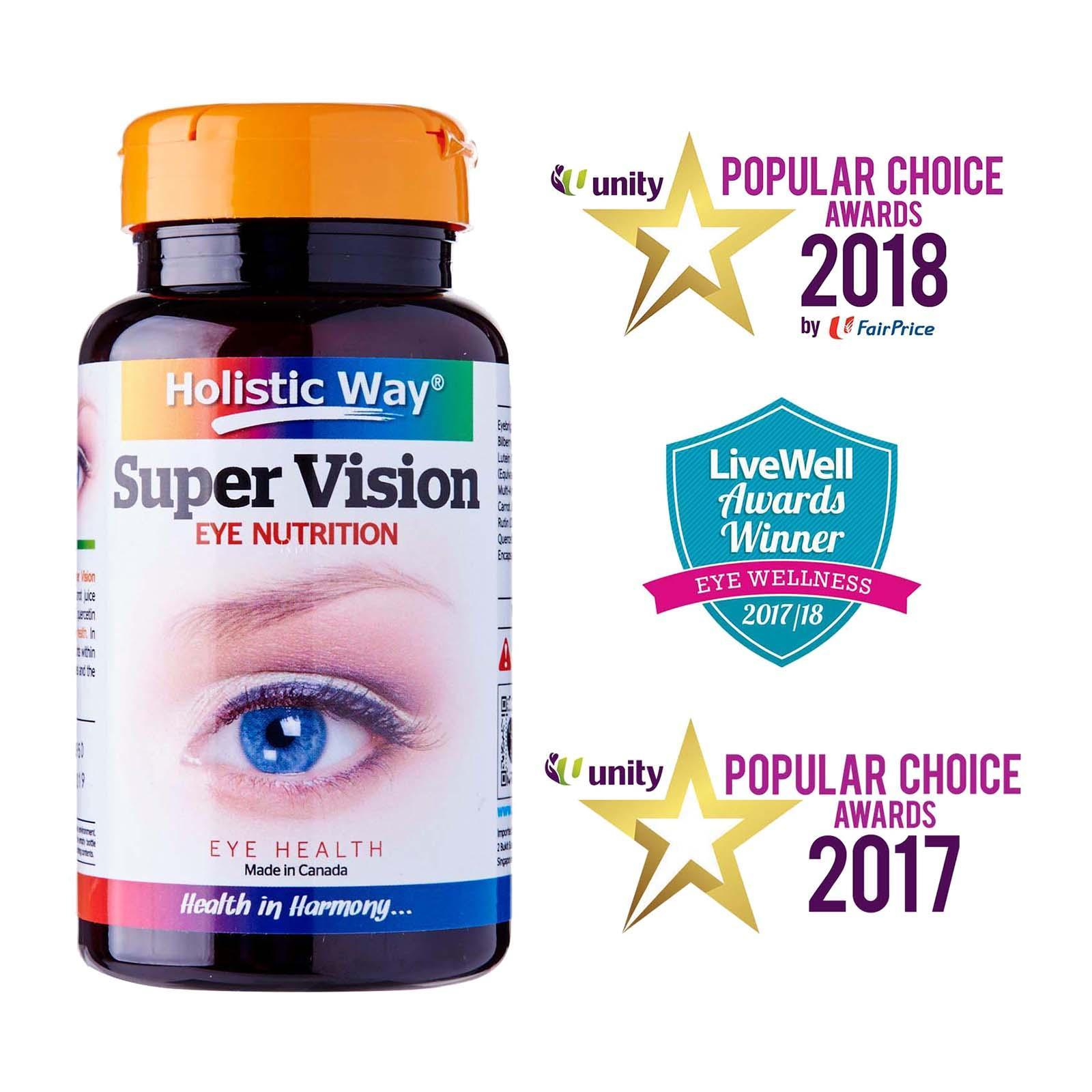 HOLISTIC WAY supervision vegetarian capsules 60s
