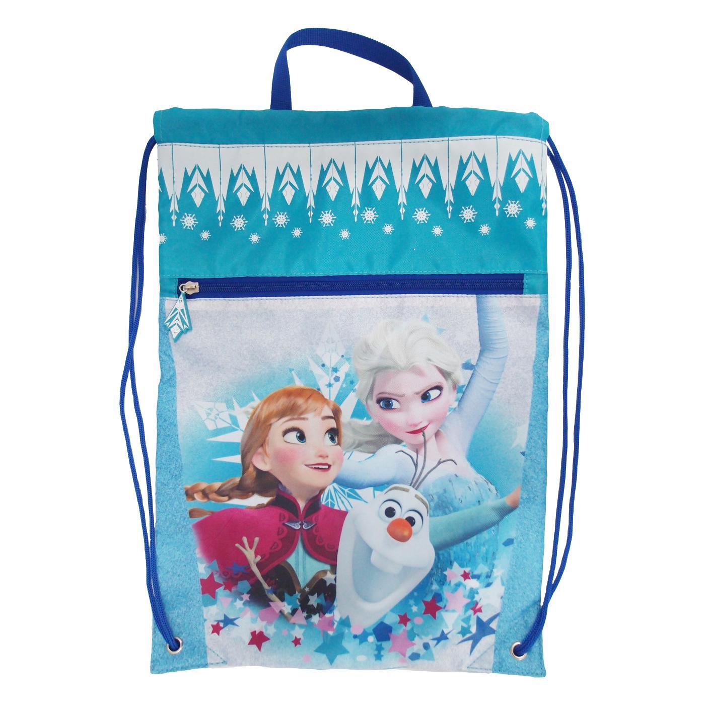 Frozen Drawstring Bag