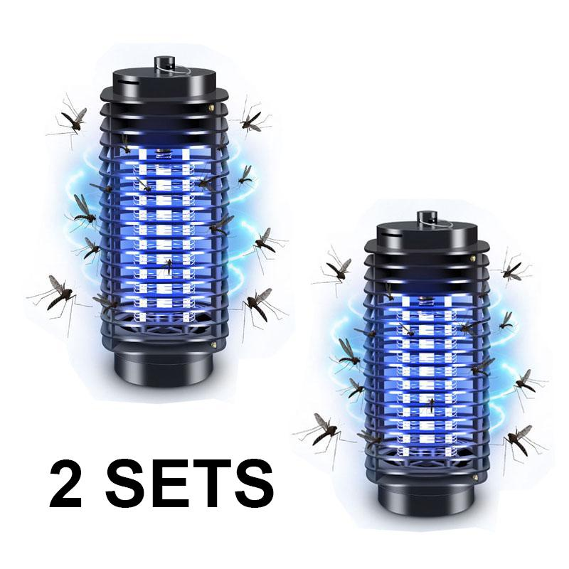 Electric Mosquito Killer Insect Killer Photocatalyst Lamp Local Plug - Set Of 2 By Hyunsin Pte Ltd.