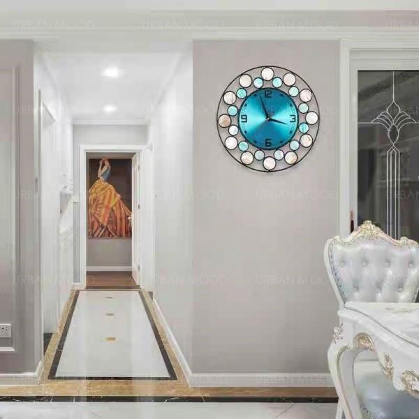 [Pre-Order] ARIEL Seashell Art Decor Wall Clock