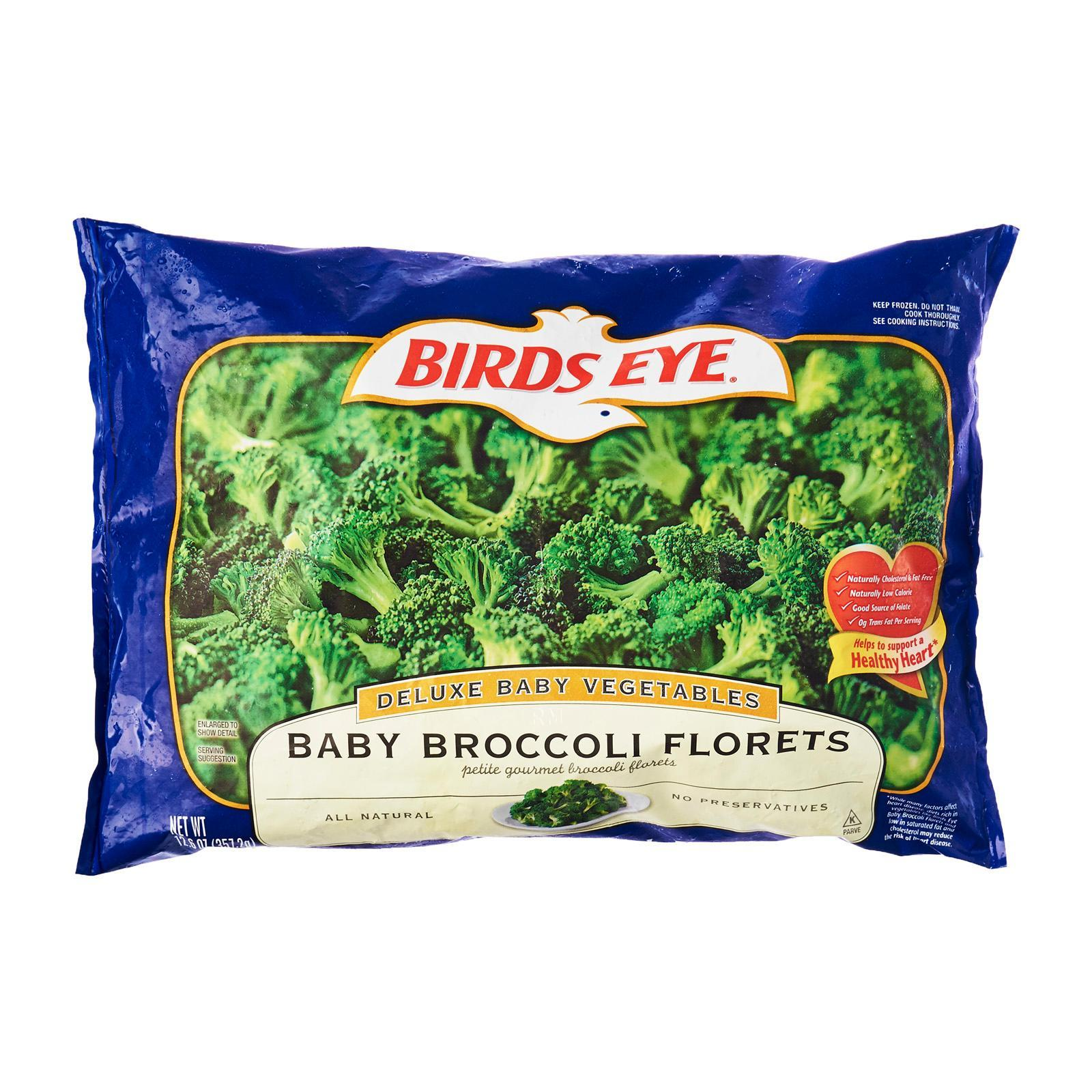 Birds Eye Fresh Frozen Select Deluxe Baby Broccoli Florets - Frozen