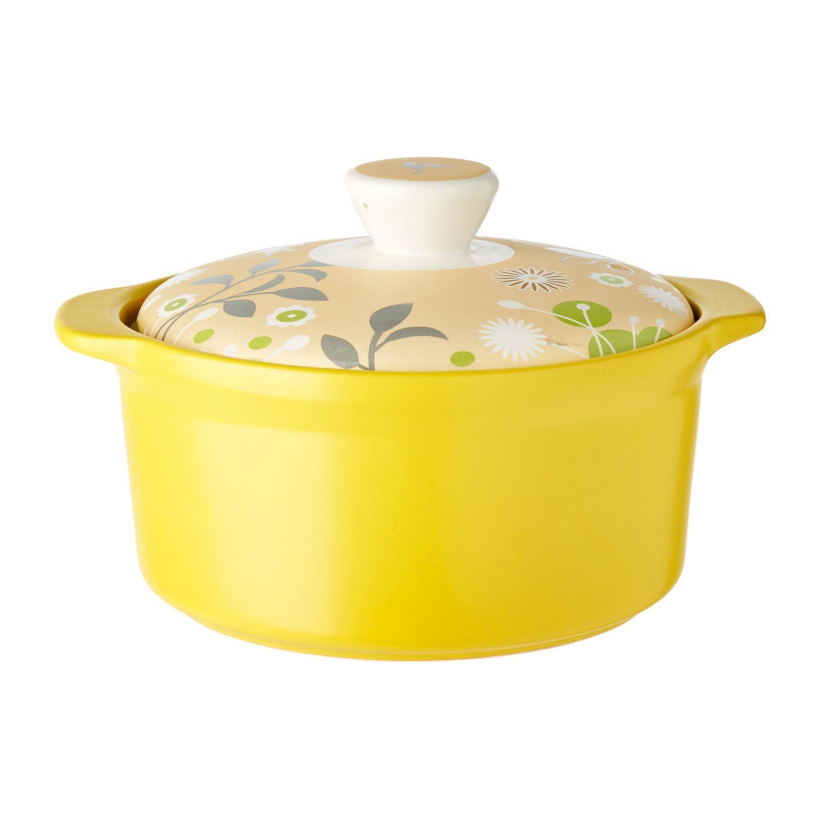 Cera Vita Ceramic Casserole Forest Hills - Yellow 1.3L