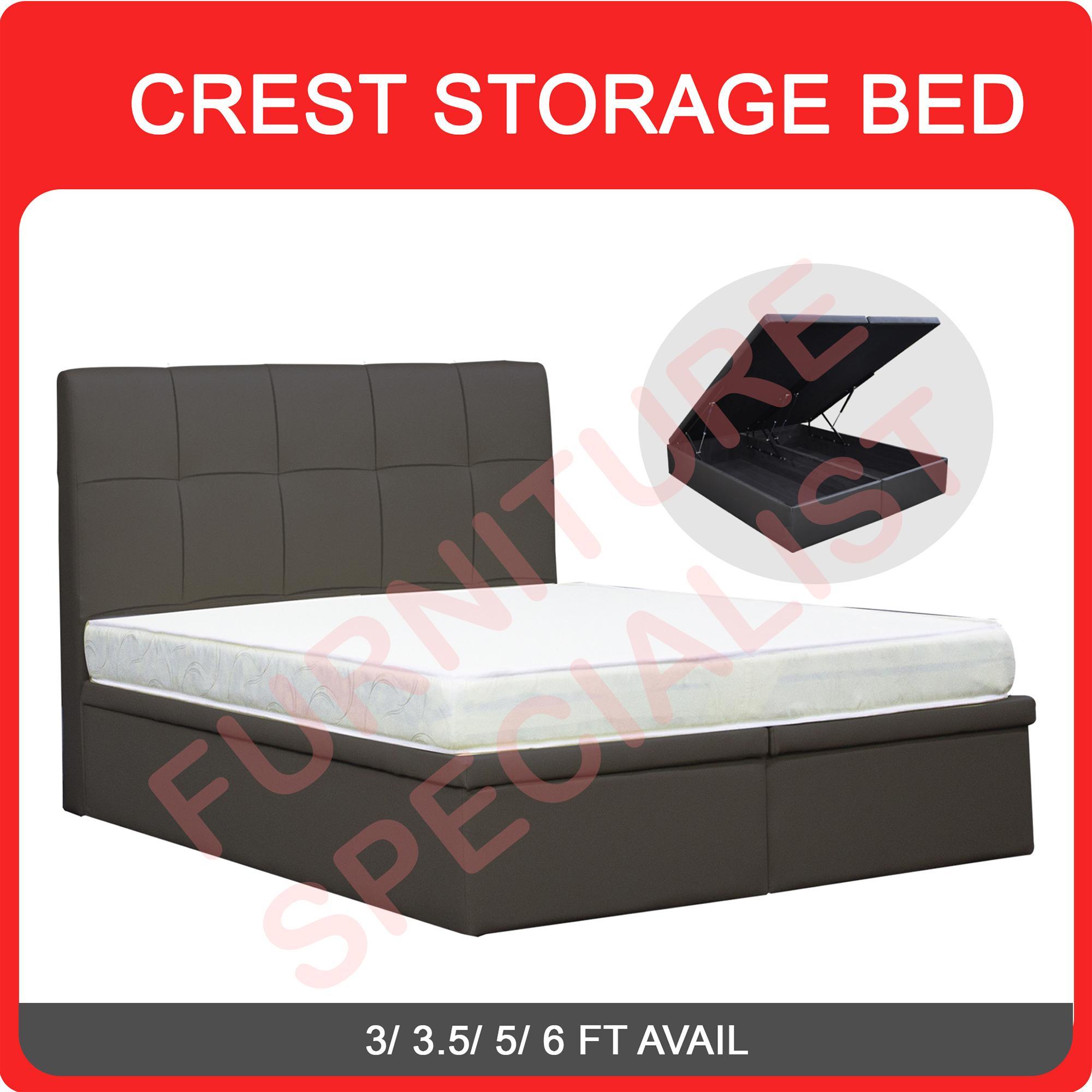 CREST STORAGE BED