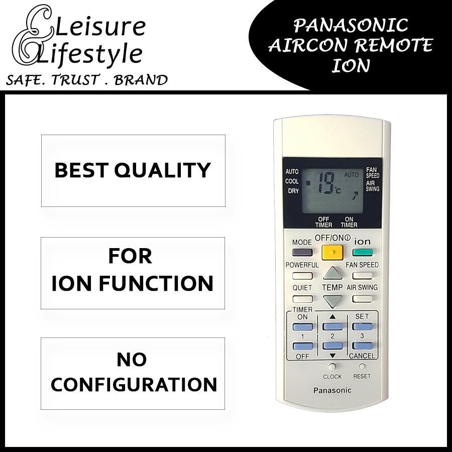 Panasonic Aircon Remote Control Panasonic Remote (Ion Function) A75C2632  A75C2600
