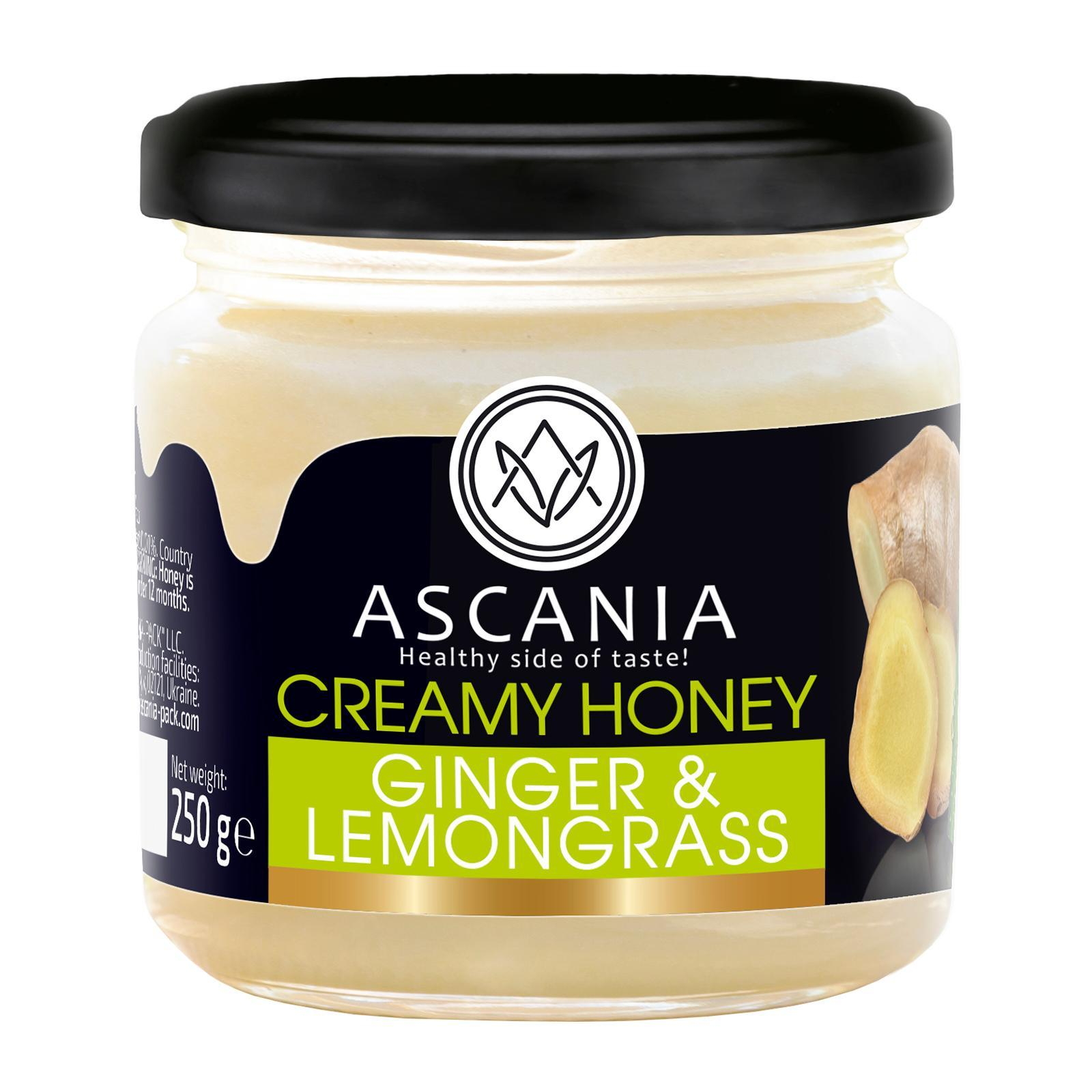 Ascania Creamy Honey With GINGER and LEMONGRASS