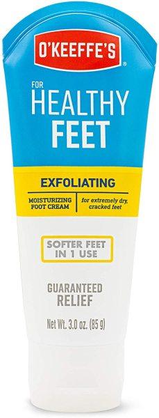Buy OKeeffes Healthy Feet Exfoliating Foot Cream, 3.0 ounce Tube (85g) Singapore