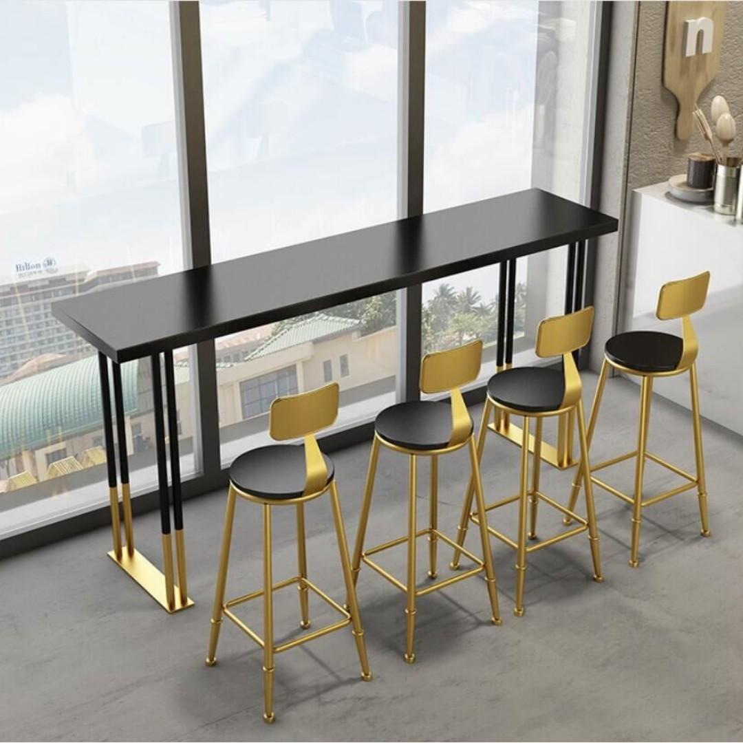 TSBT 012 CSBC 014 Solid Wood Bar Table or High bar Stool