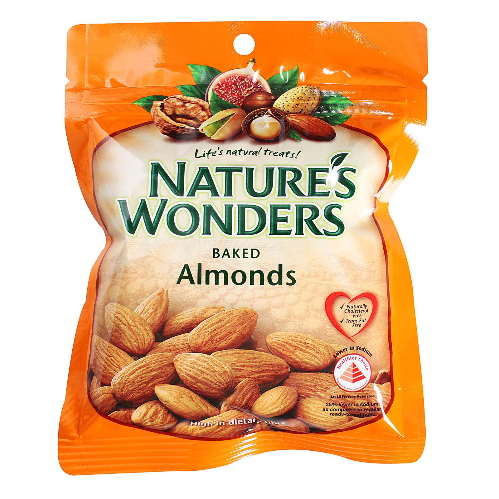 Nature's Wonders Baked Almond Nuts