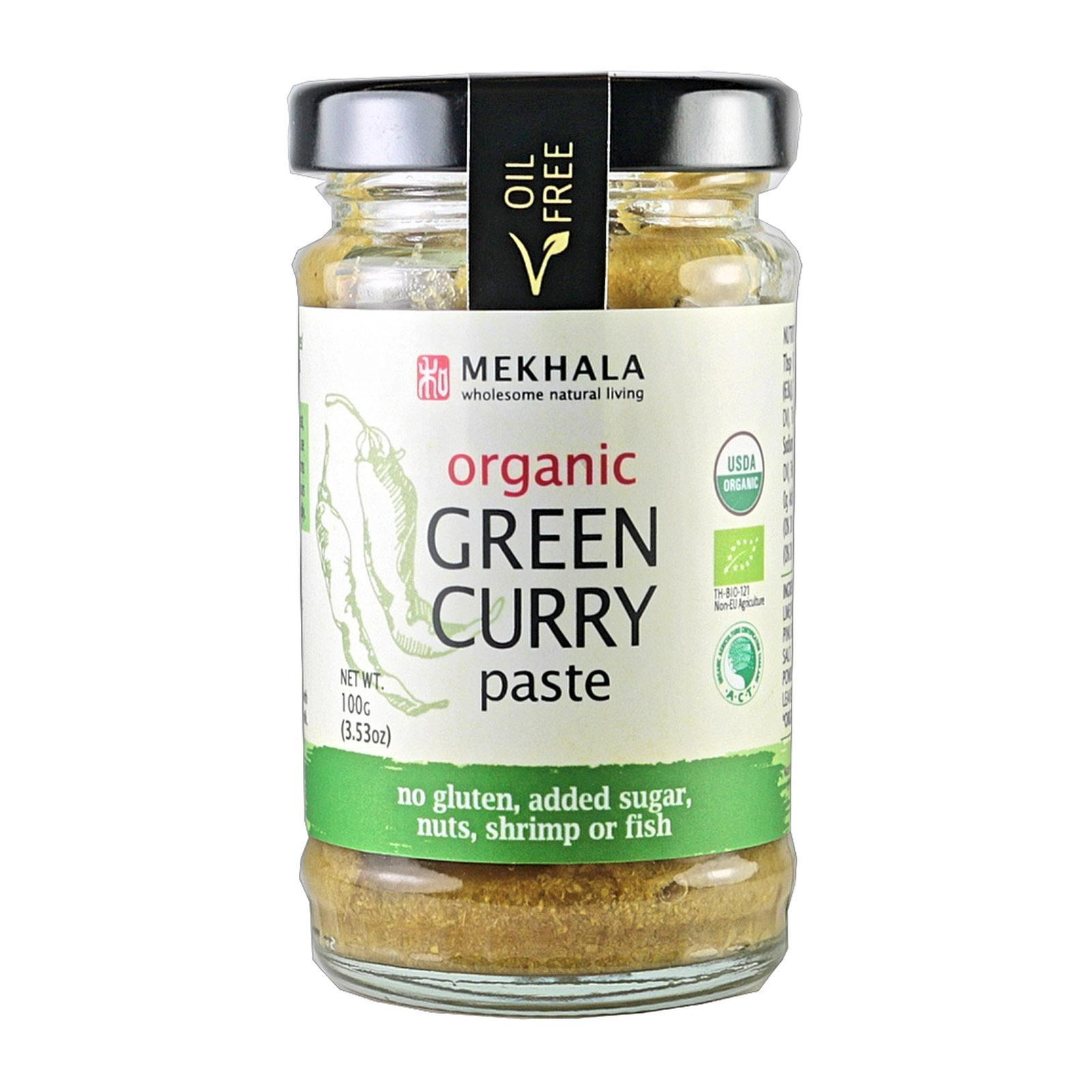 Mekhala Organic (all-Natural) Thai Green Curry Paste By Redmart.
