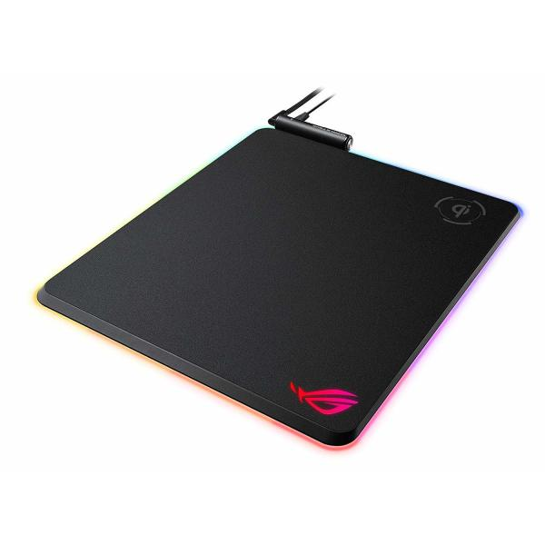 Asus ROG Balteus Qi Wireless Charging RGB Gaming Mousepad Aura Sync Lighting