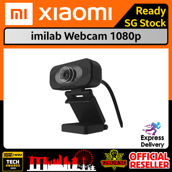 Xiaomi imilab Webcam 1080p Express Delivery 3PM.SG 12BUY.SG