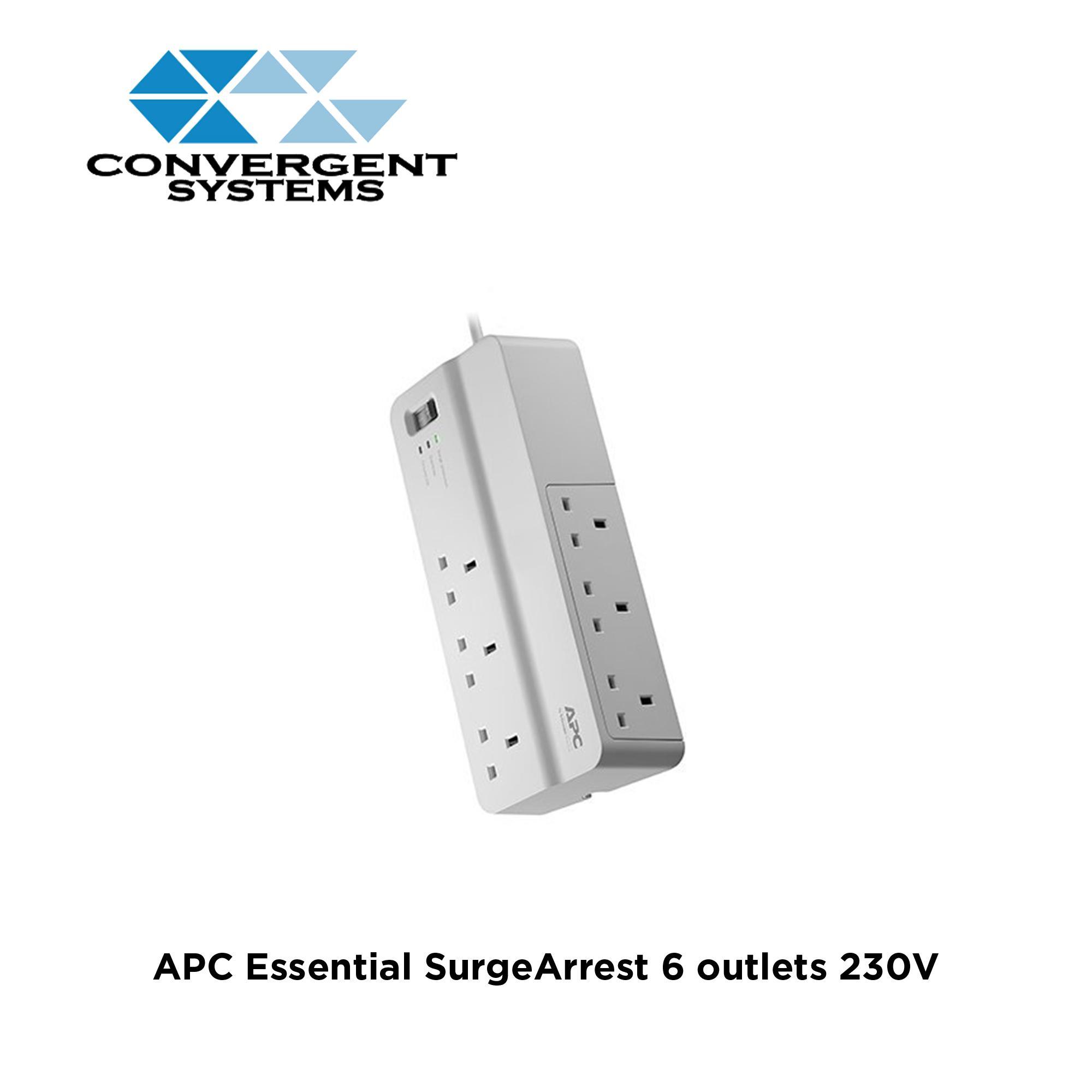 APC Essential SurgeArrest 6 outlets 230V UK