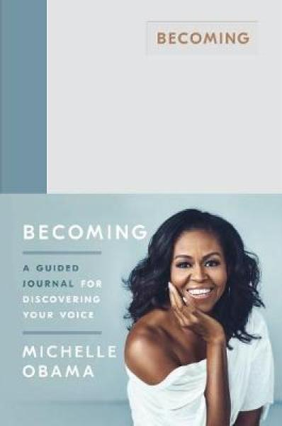 Becoming: A Guided Journal for Discovering Your Voice HARDCOVER (9780241444153)