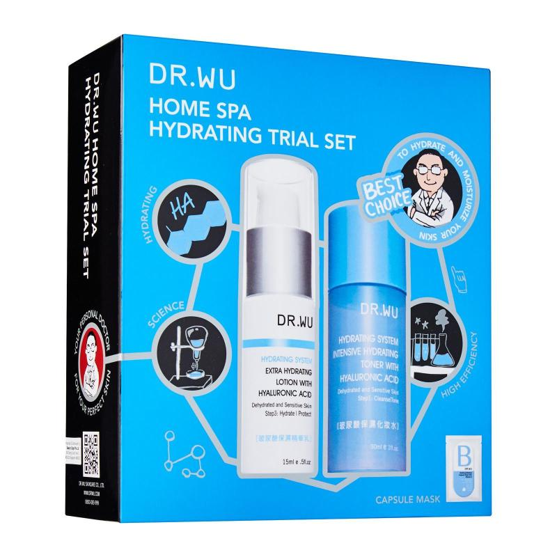 Buy Dr. Wu Clinical Skincare Dr. Wu Home Spa Hydrating Trial Singapore