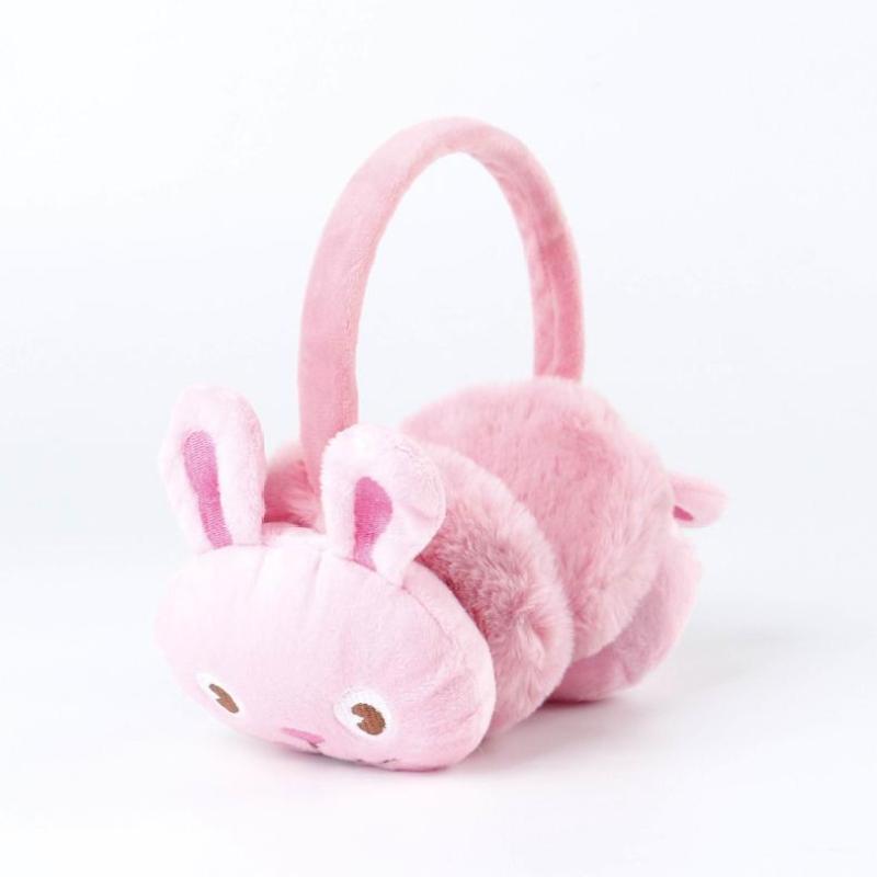 Winter Childrens Cartoon Warm Earmuffs Baby Outdoor Cold Ear Warmer Cute Plush Soft Thick Parent And Child Earmuff